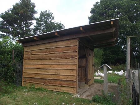 Goose Barn left